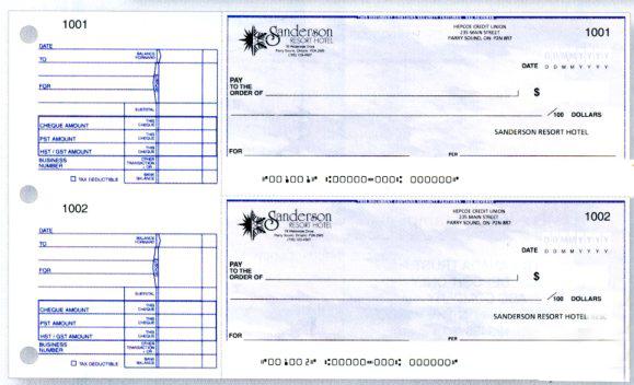 Cheques Kelowna Printers Printing Kelowna Cs Printmaster