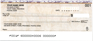 Personal cheque
